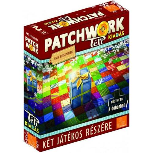 patchwork téli kiadás