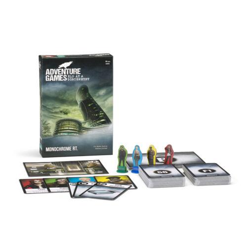 Adventure Game 1 - Monochrome Inc társasjáték