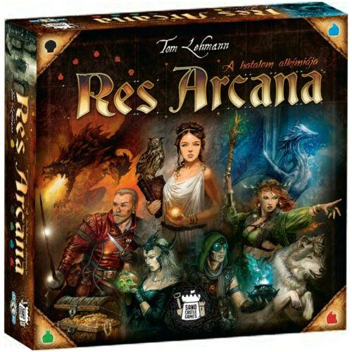 Res Arcana: A hatalom alkímiája társasjáték