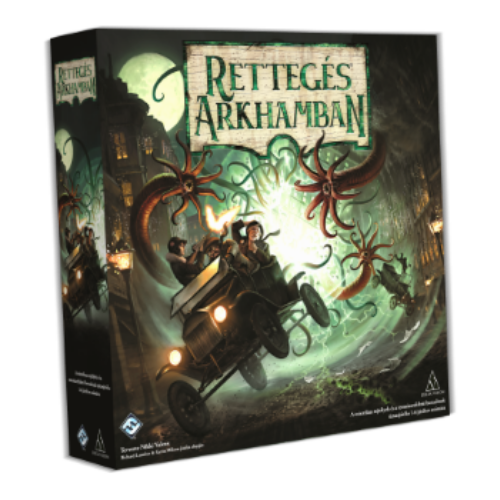 Rettegés Arkhamban - 3. kiadás (Arkham Horror magyar kiadása)