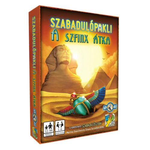 Szabadulópakli: A szfinx átka