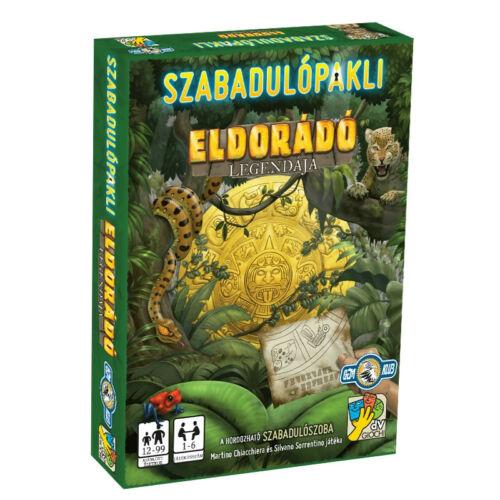 Szabadulópakli - Eldorádó legendája társasjáték