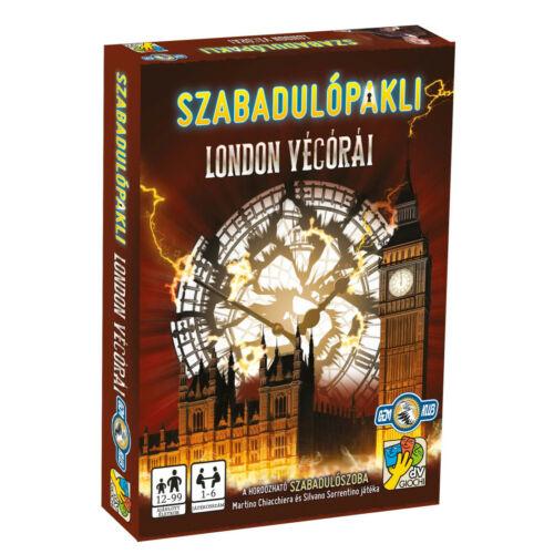 Szabadulópakli - London végórái társasjáték