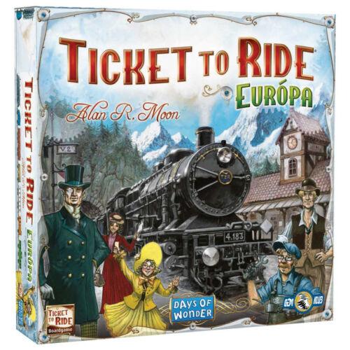 Ticket to Ride Europe társasjáték