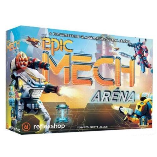 Tiny Epic - Mech Aréna társasjáték