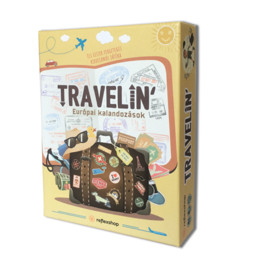 Travelin' - Európai kalandozások társasjáték