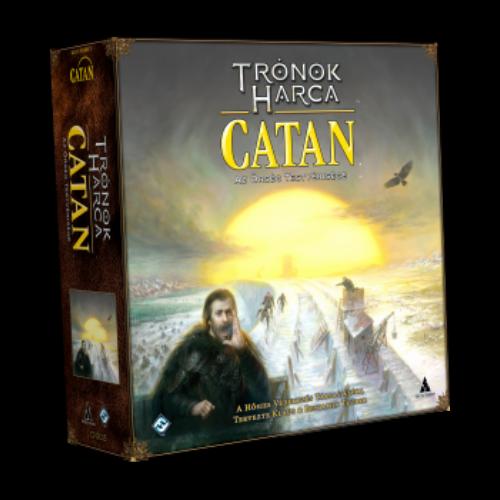 Trónok Harca Catan - Az Őrség Testvérisége társasjáték