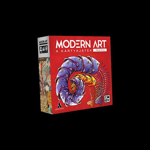 modern art kártyajáték