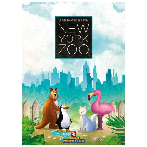 New York Zoo társasjáték