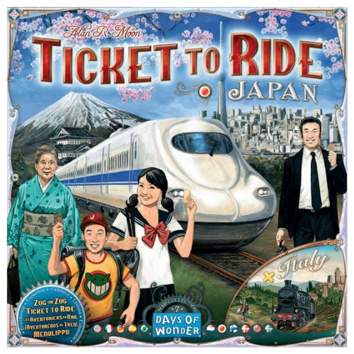 Ticket to Ride Japan Italy