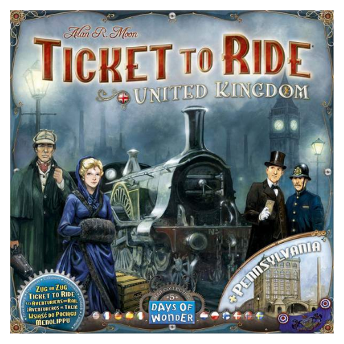 Ticket to Ride UK Pennsylvania