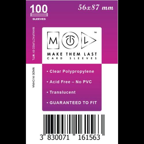 MTL 56x87 mm standard kártyavédő