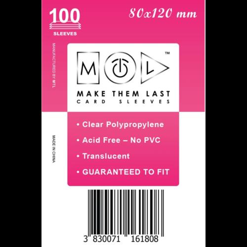 MTL 80x120 mm standard kártyavédő