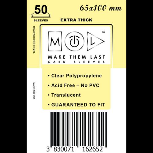 MTL 65x100 mm premium kártyavédő