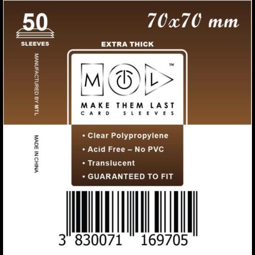 MTL 70x70 mm premium kártyavédő