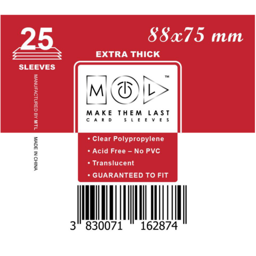 MTL 88x75 mm premium kártyavédő
