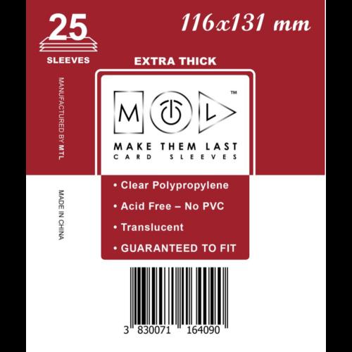MTL 116x131 mm premium kártyavédő