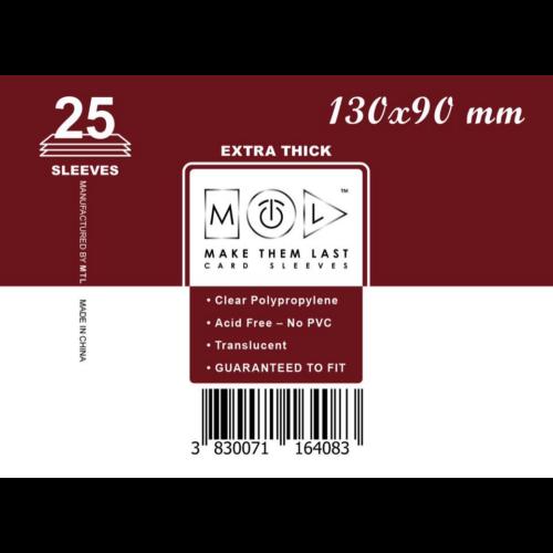 MTL 130x90 mm premium kártyavédő