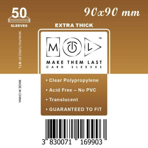 MTL 90x90 mm premium kártyavédő