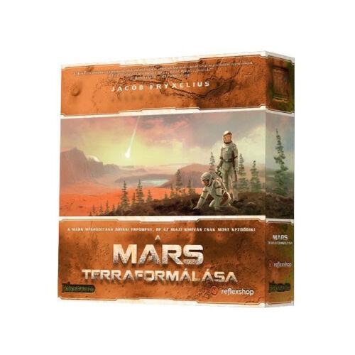 A Mars Terraformálása társasjáték