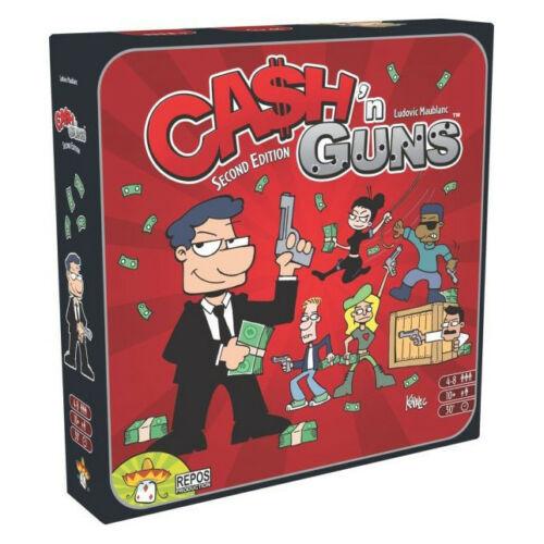 Cash n Guns 2. kiadás társasjáték
