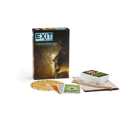 Exit 3 - A fáraó sírkamrája társasjáték