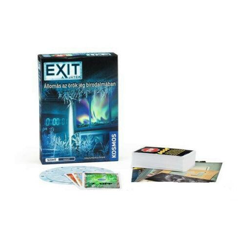 Exit 6 - Állomás az örök jégben társasjáték