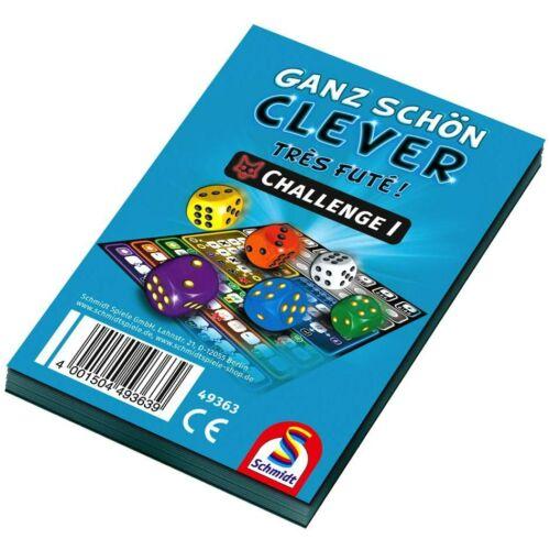Ganz Schön Clever Challange Block I. pontozólaptömb