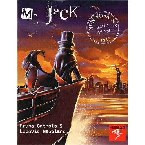 Mr. Jack in New York társasjáték