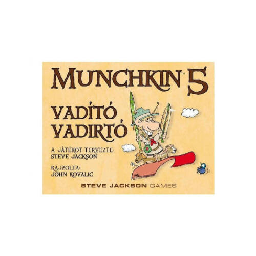 Munchkin 5: Vadító Vadirtó kiegészítő