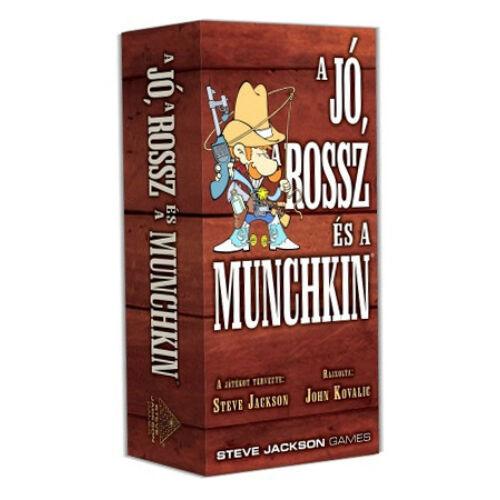 Munchkin - A Jó, A Rossz és a Munchkin társasjáték