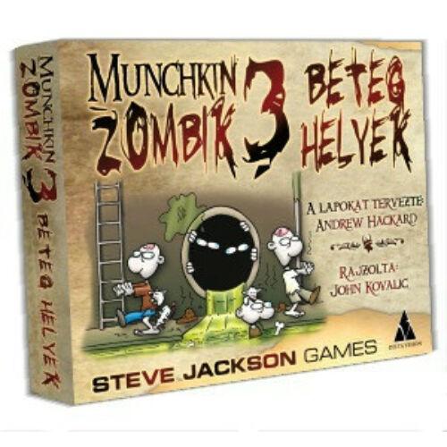 Munchkin Zombik 3: Beteg helyek kiegészítő