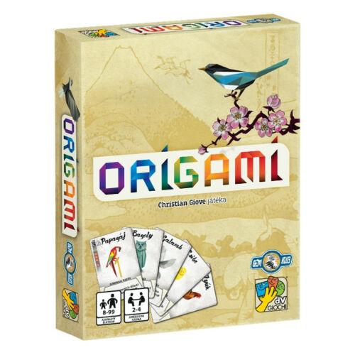 Origami társasjáték