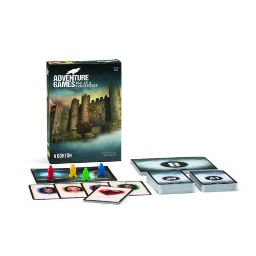 adventure game a börtön társasjáték
