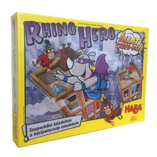 Rhino Hero - Állati Csete-Paté társasjáték