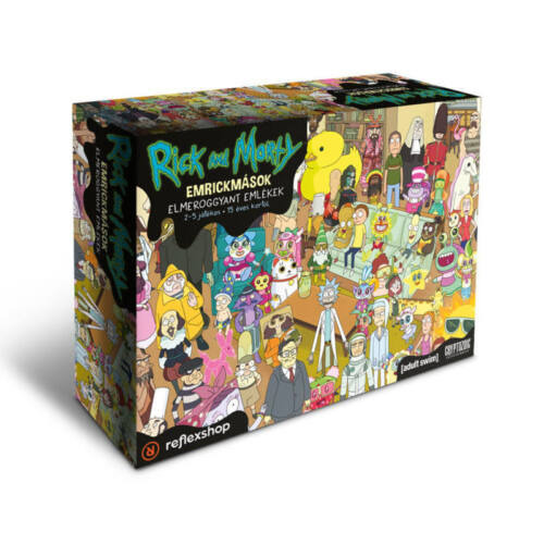 Rick & Morty: EmRickMások társasjáték
