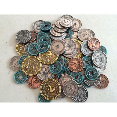 scythe metal coins fémpénzek