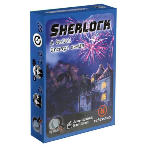 Sherlock: A halál ünnepi szele társasjáték