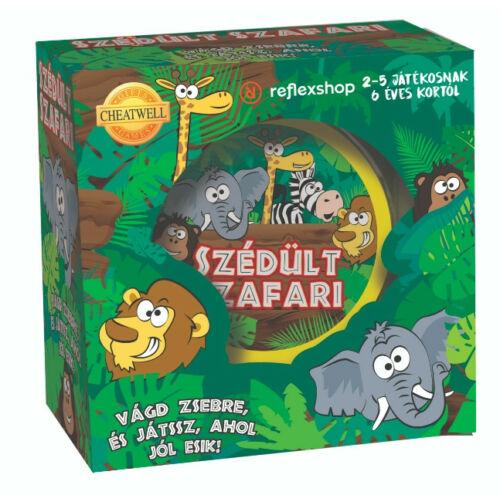 Szédült Szafari társasjáték